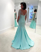 beaded mermaid prom dress ,sexy ,beautiful prom dress ,5672