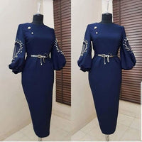 Charming Navy Blue Homecoming Dress,prom dress ,6040