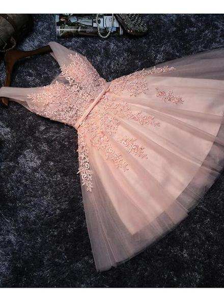 Pink Homecoming Dresses, Lovely Party Dresses, Formal Dresses,JJ645