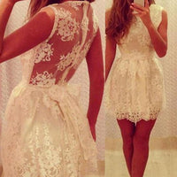 New Arrival lace simple elegant cute freshman graduation formal homecoming prom gown dresses, JJ837