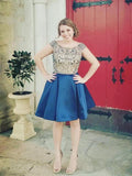 A-line Homecoming Dress Short Prom Drsess Homecoming Dresses,JJ944