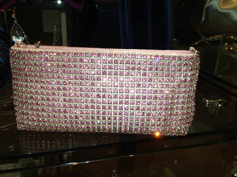 Swarovski Crystal Bag (Pink)