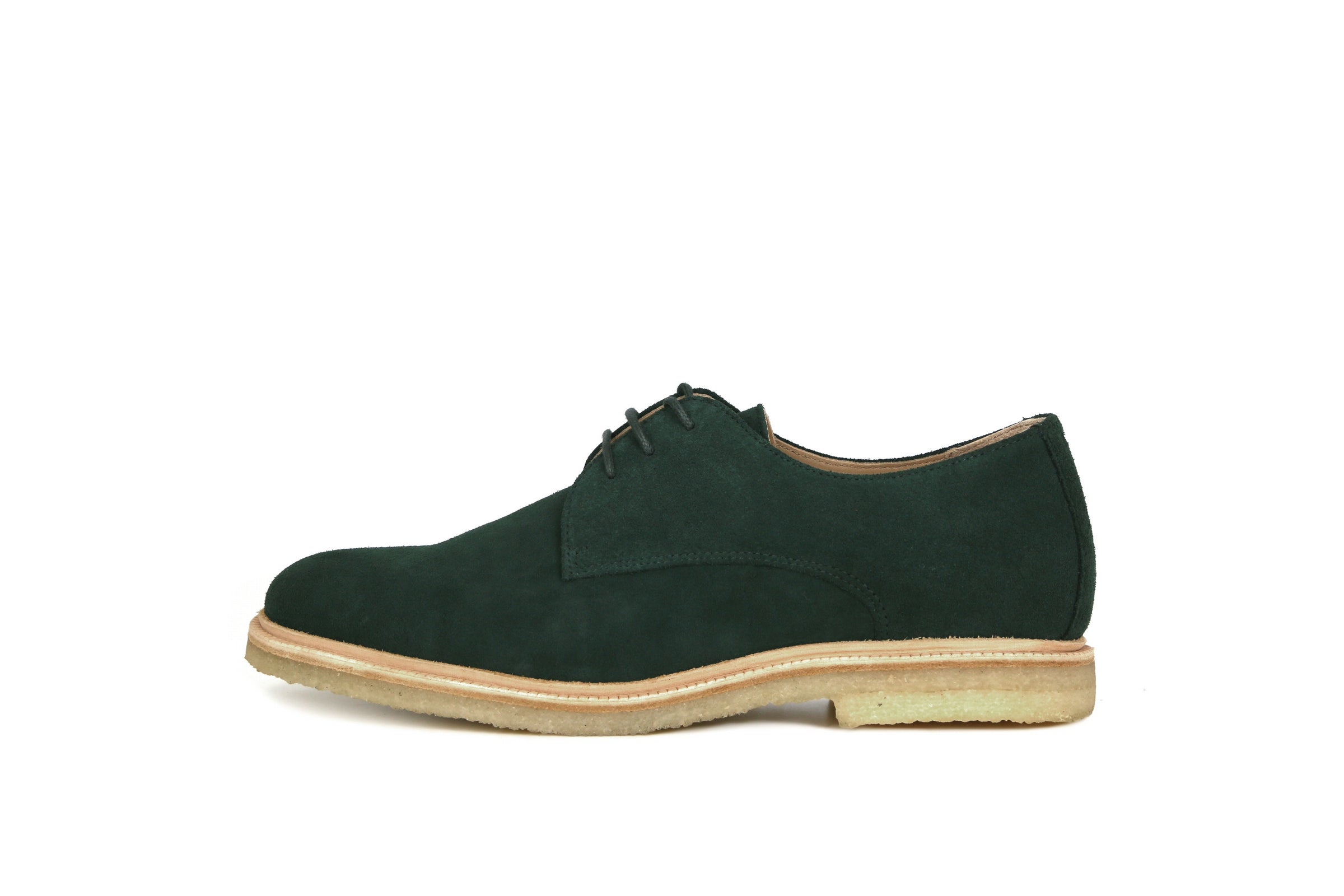 Cast Crepe Derby Shoe Suede