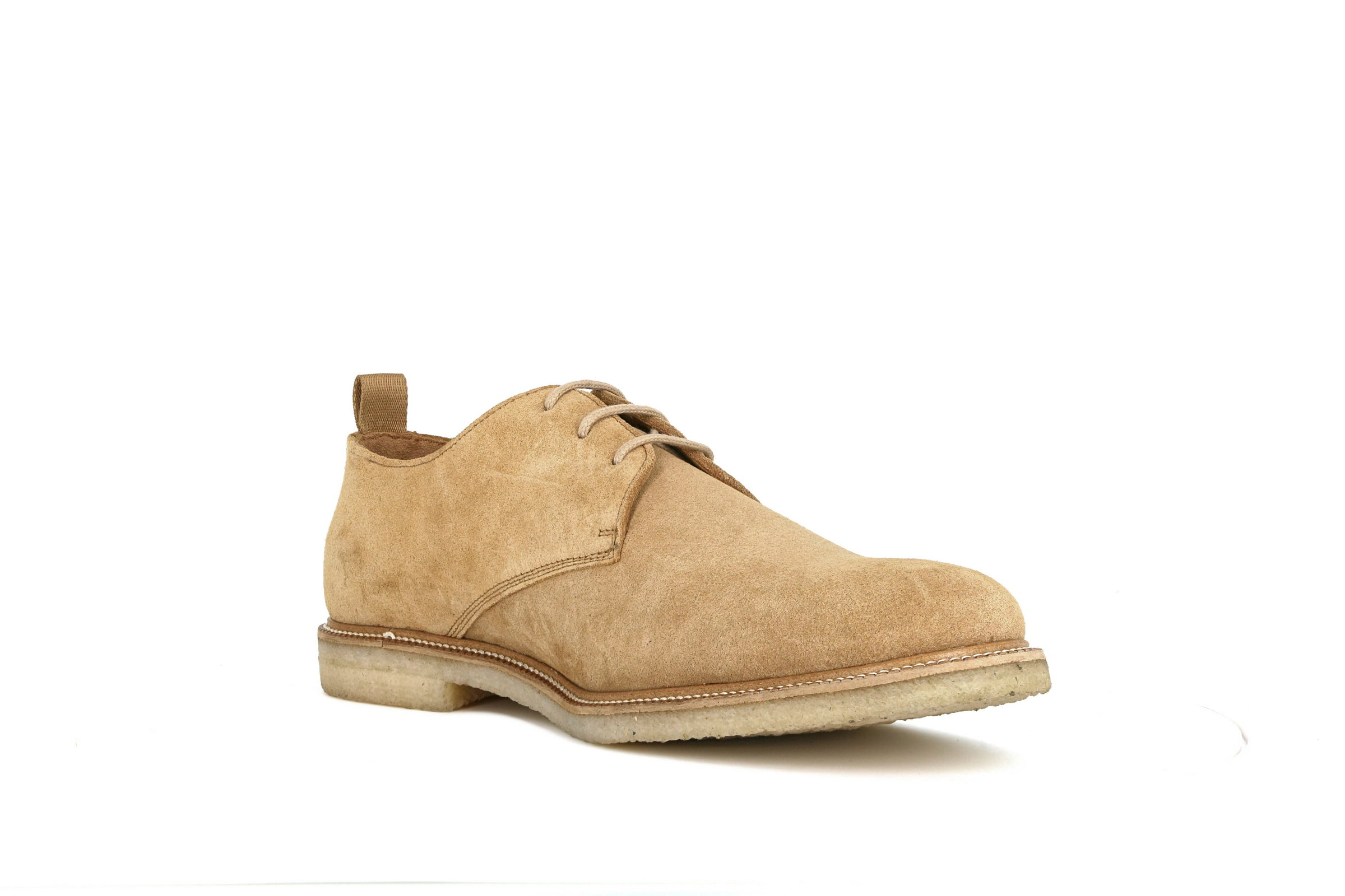 Cast Crepe Suede Derby Shoe