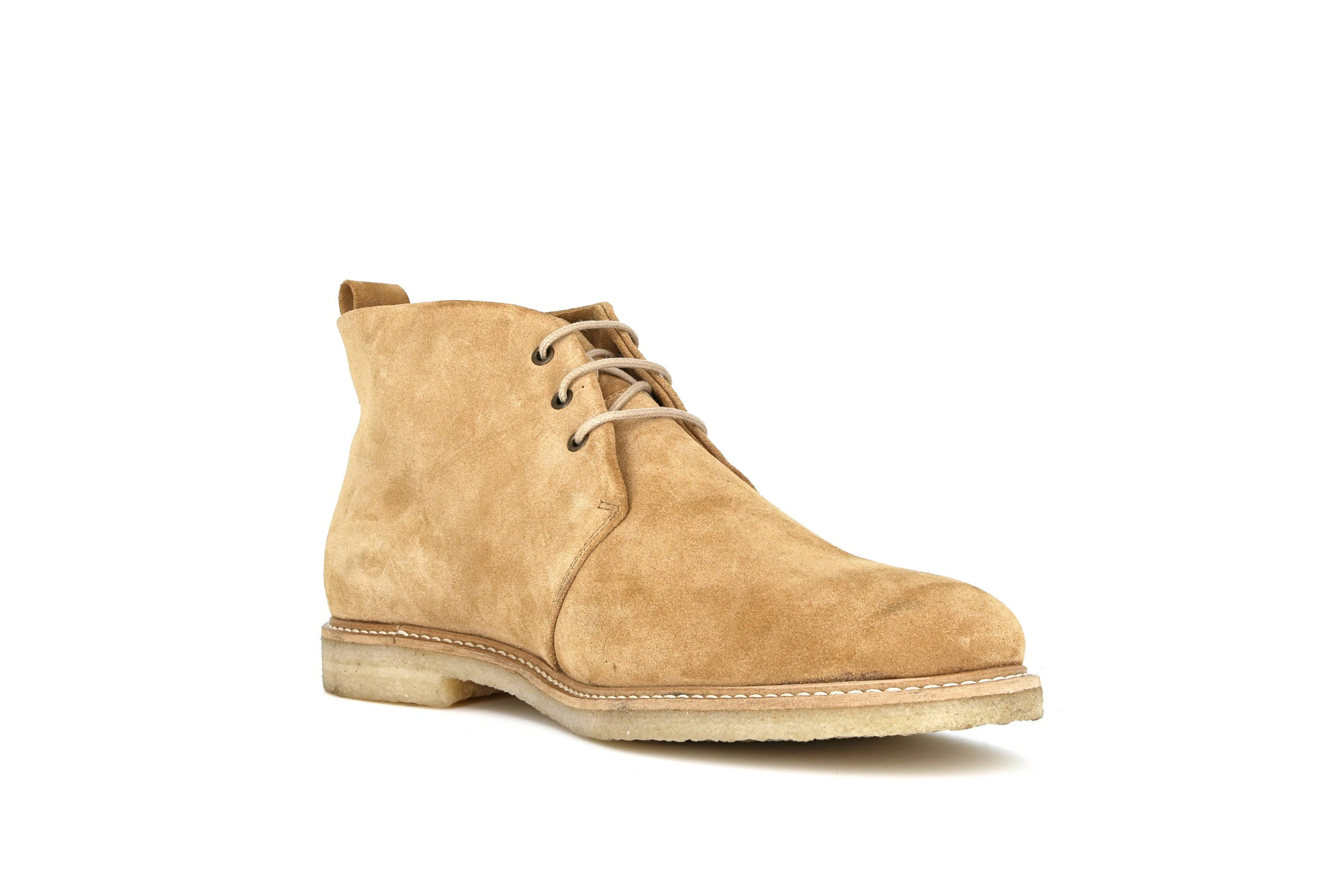 Cast Crepe Suede Chukka