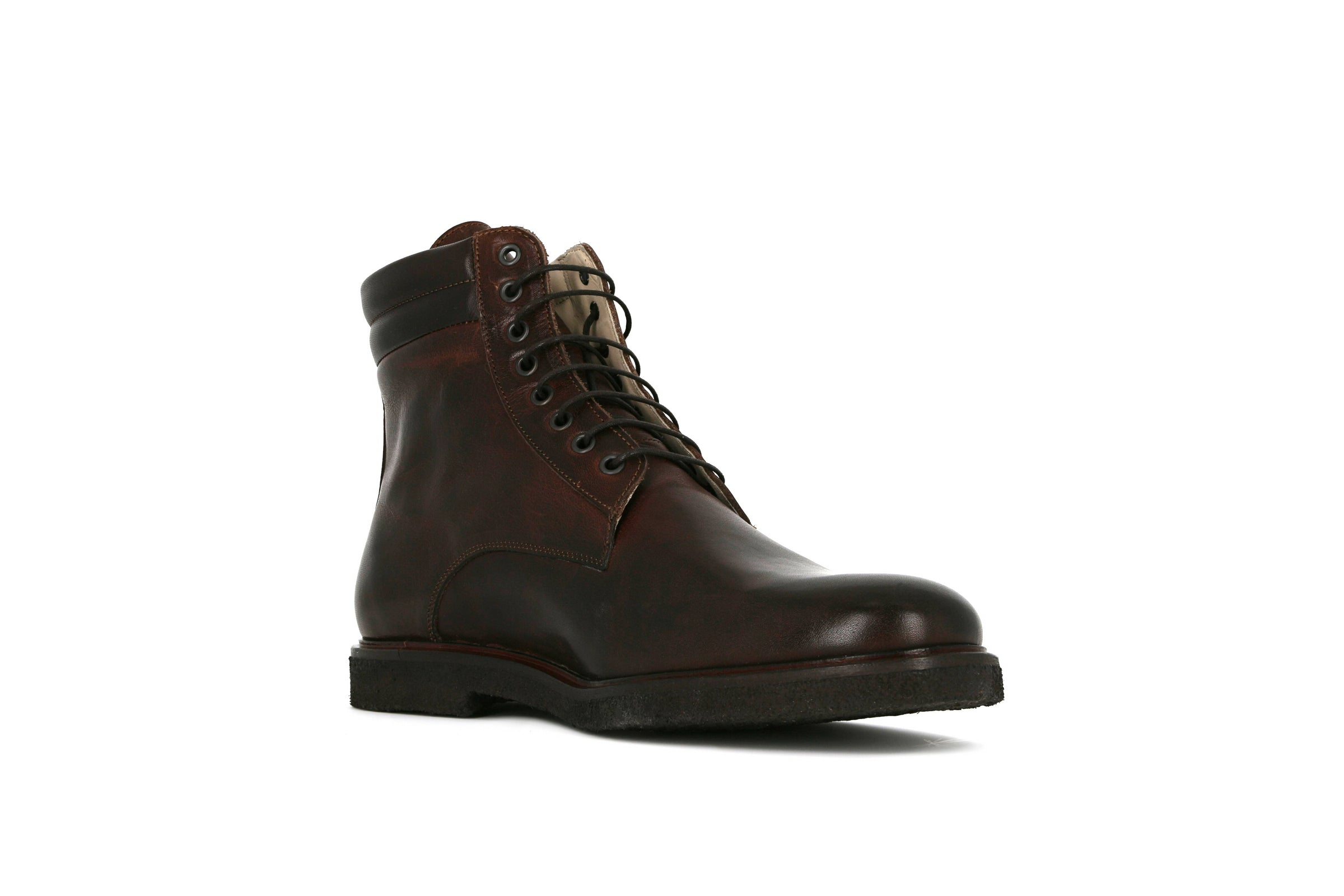 Cast Crepe Combat Boot