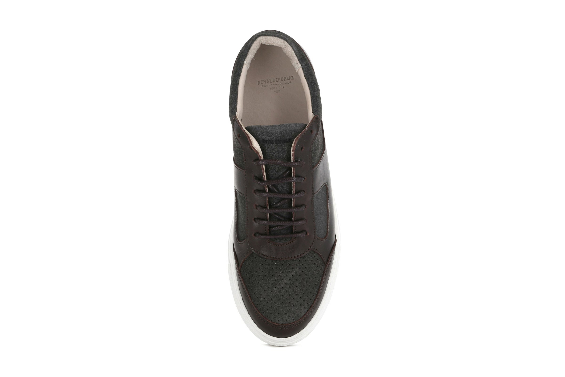 Spartacus Oxford Suede Shoe