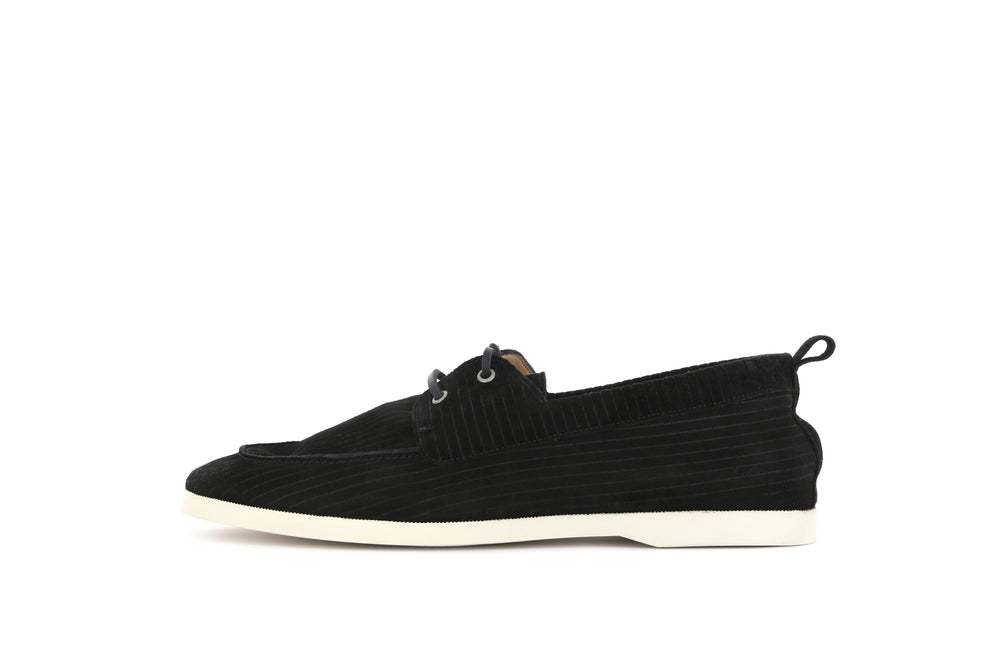 Wave Suede Corduroy Loafer