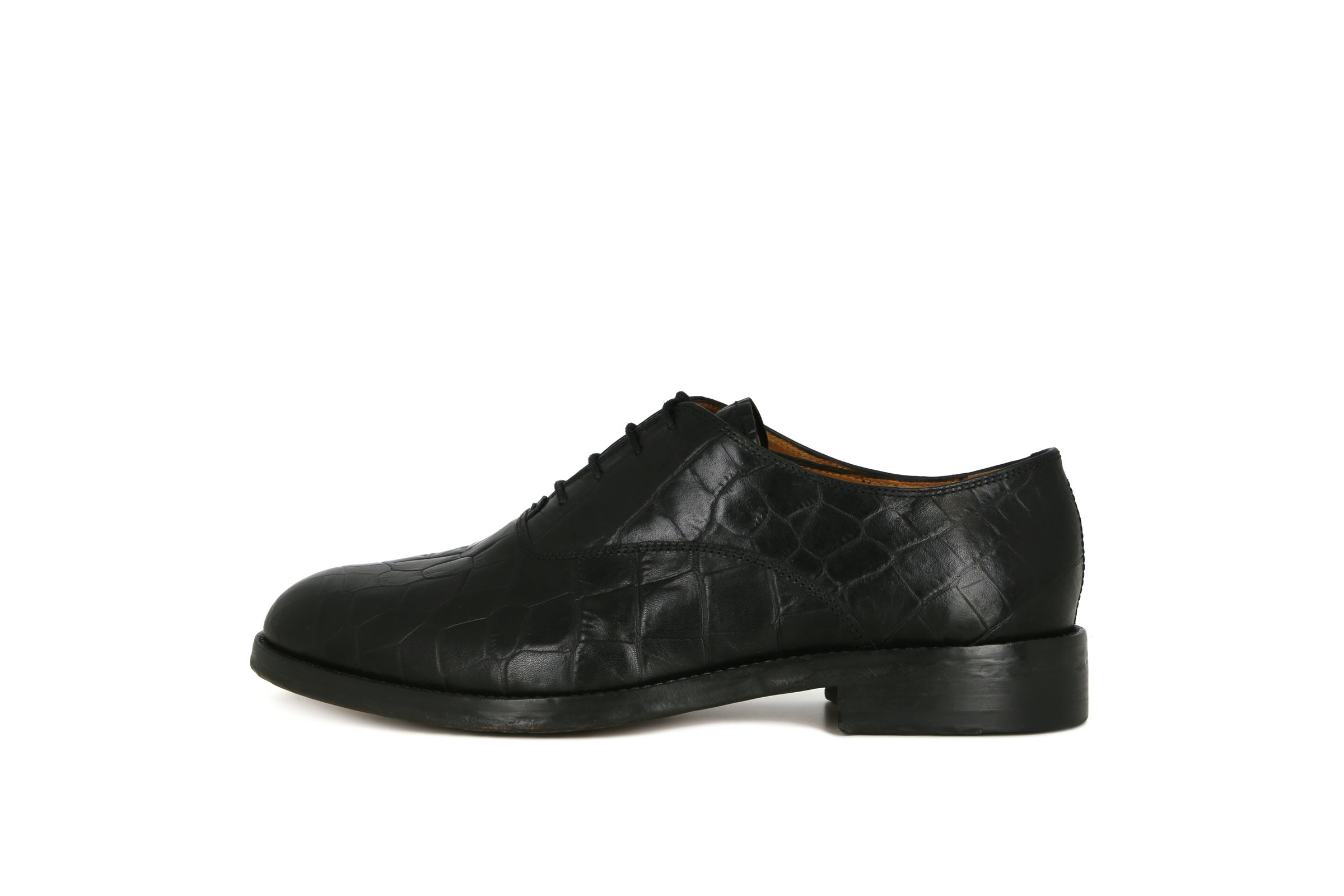 Guardian Croco Oxford Shoe