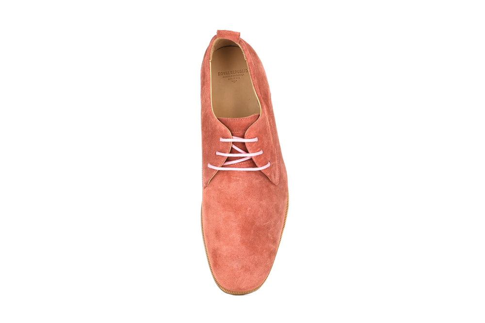 Evo Suede Derby Shoe