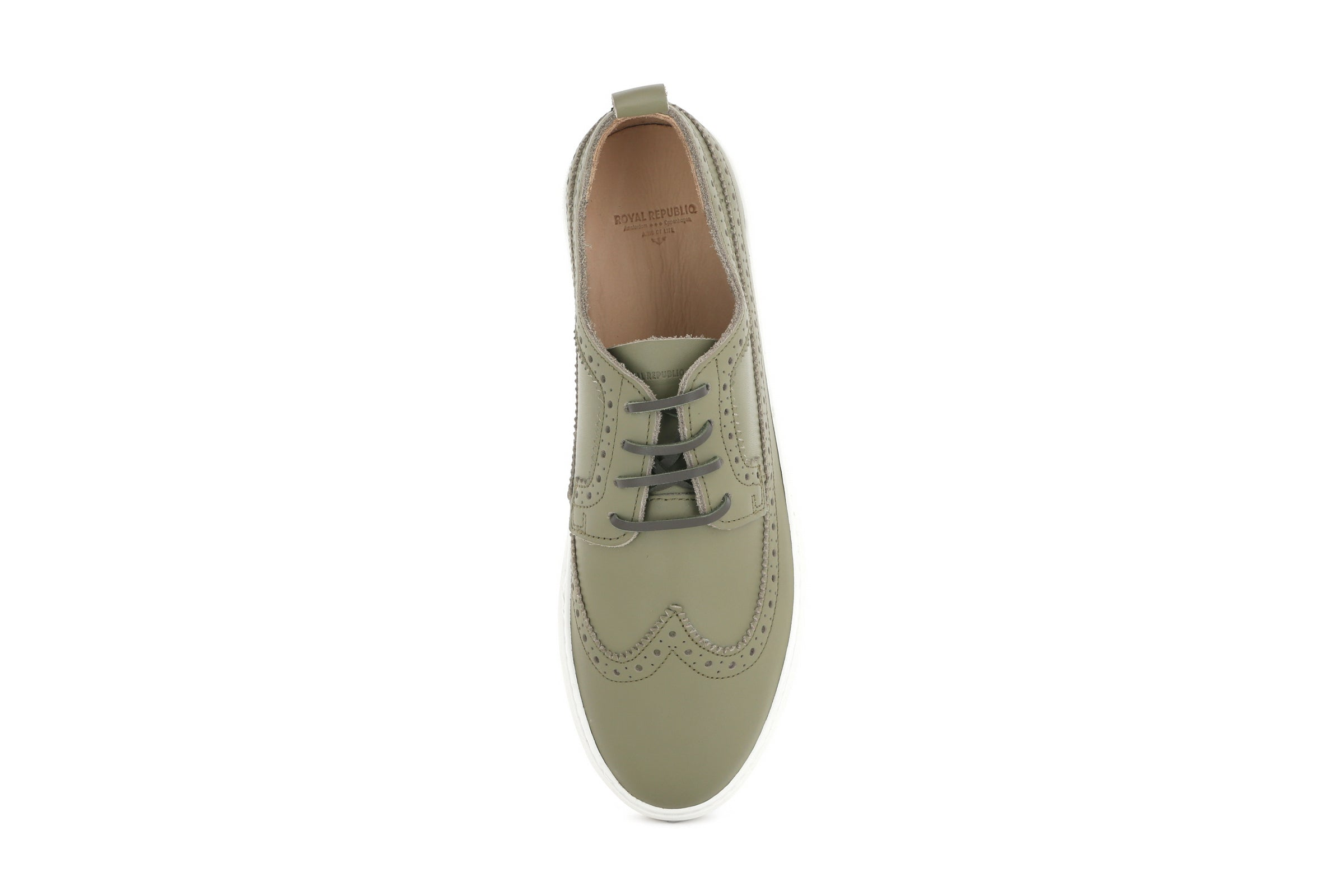 Doric Brogue Derby Shoe