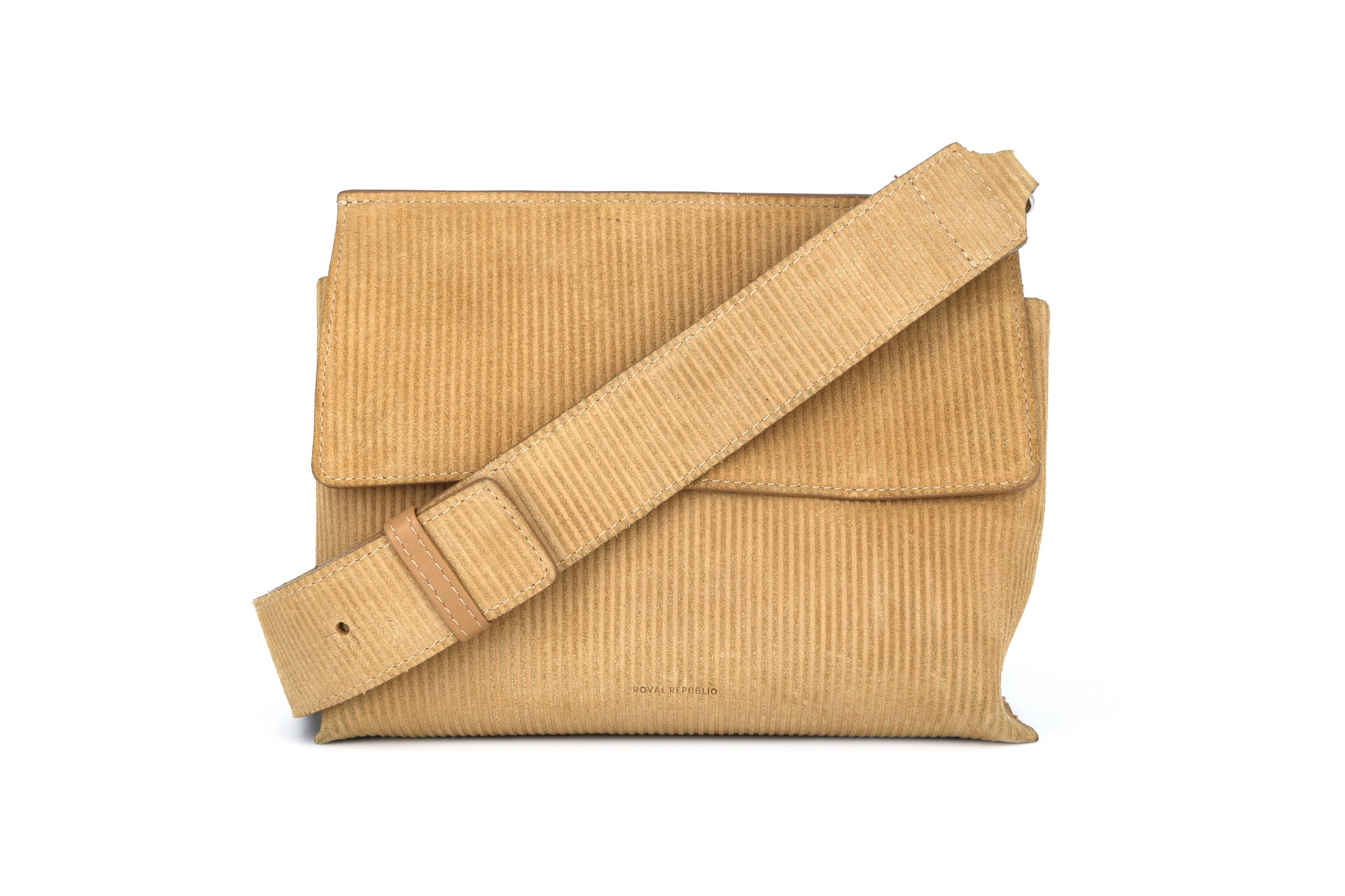 Elite Suede Corduroy Evening Bag