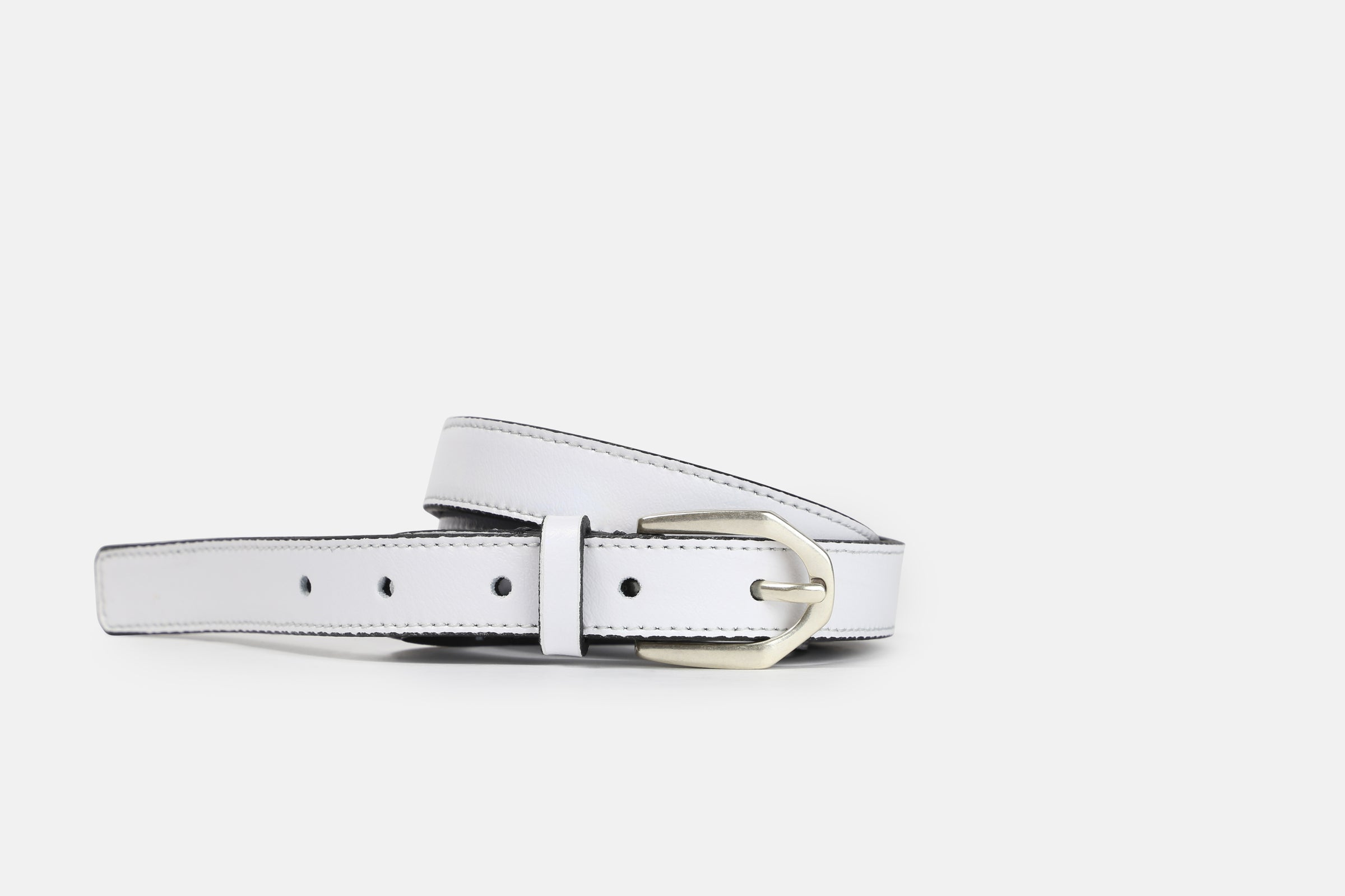 Serpentine Holographic Belt