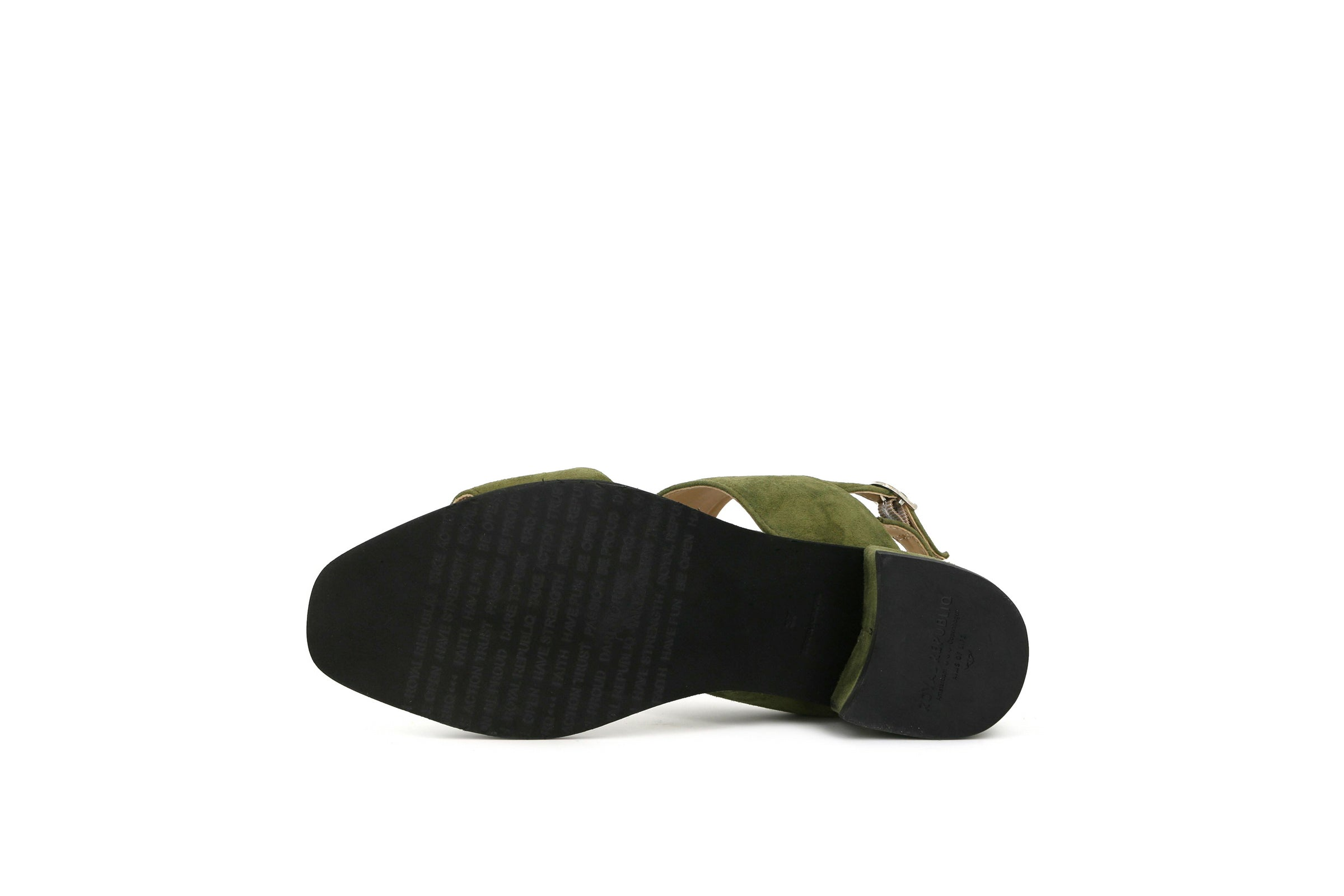 Town Suede Strap Sandal