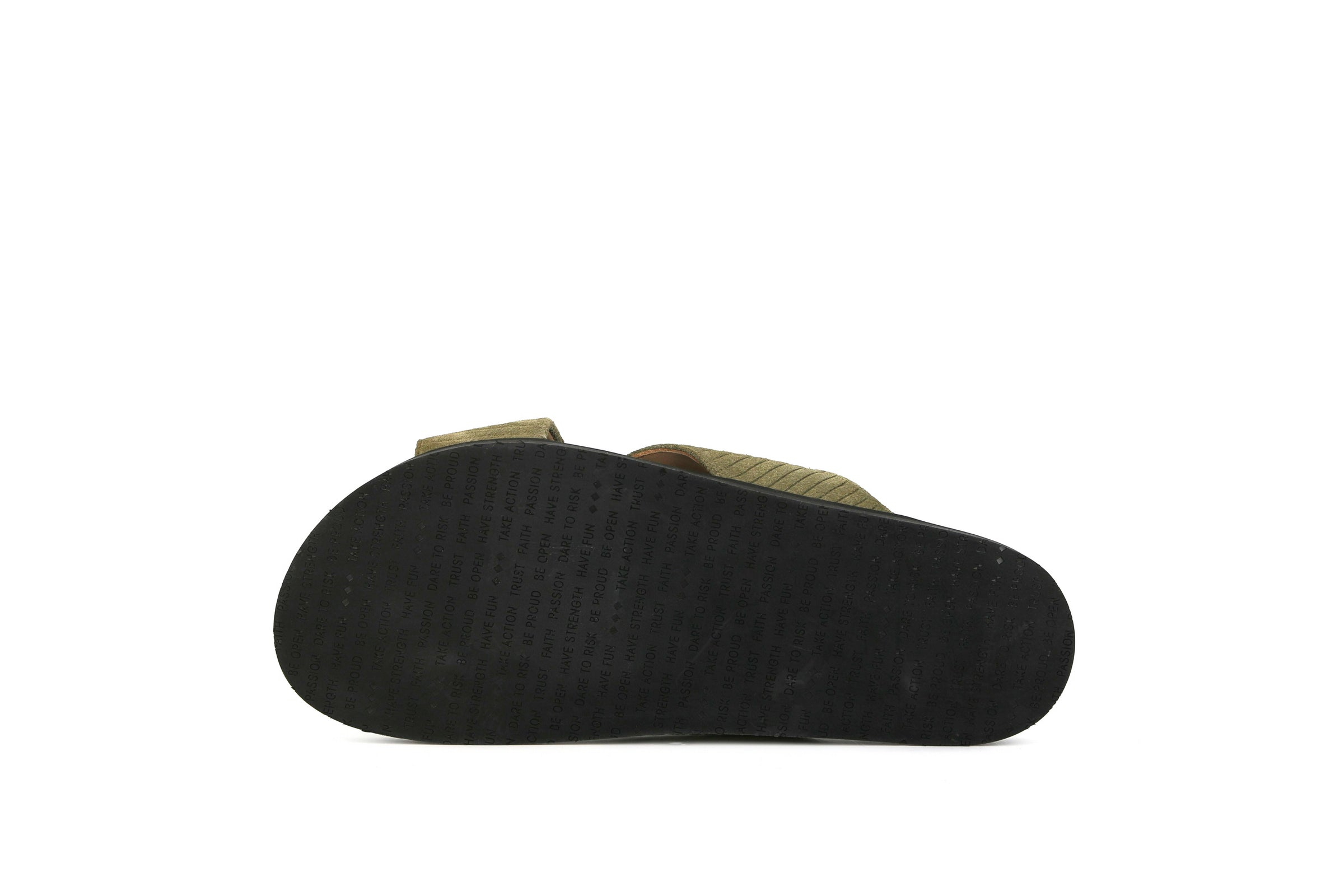 Route Suede Corduroy Cross Slipper