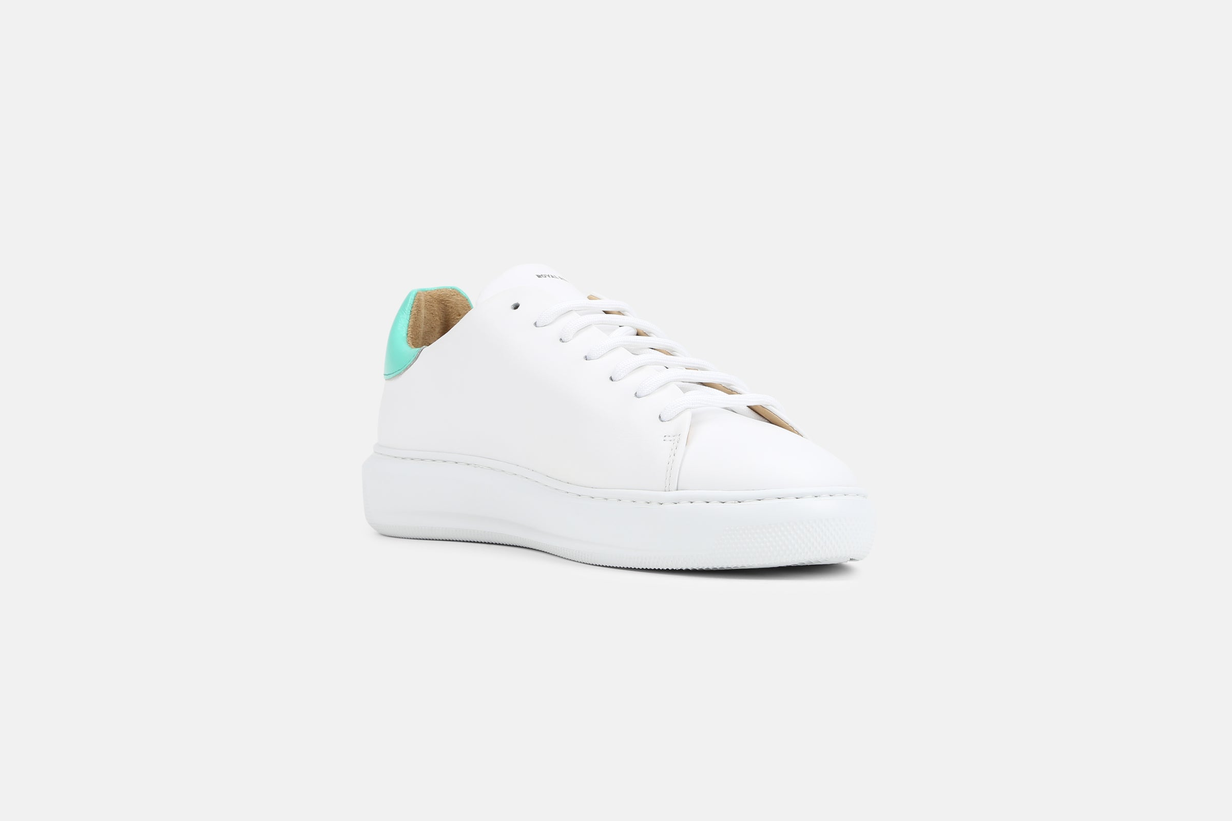 Cosmos Accent Holographic Derby Shoe / Aqua