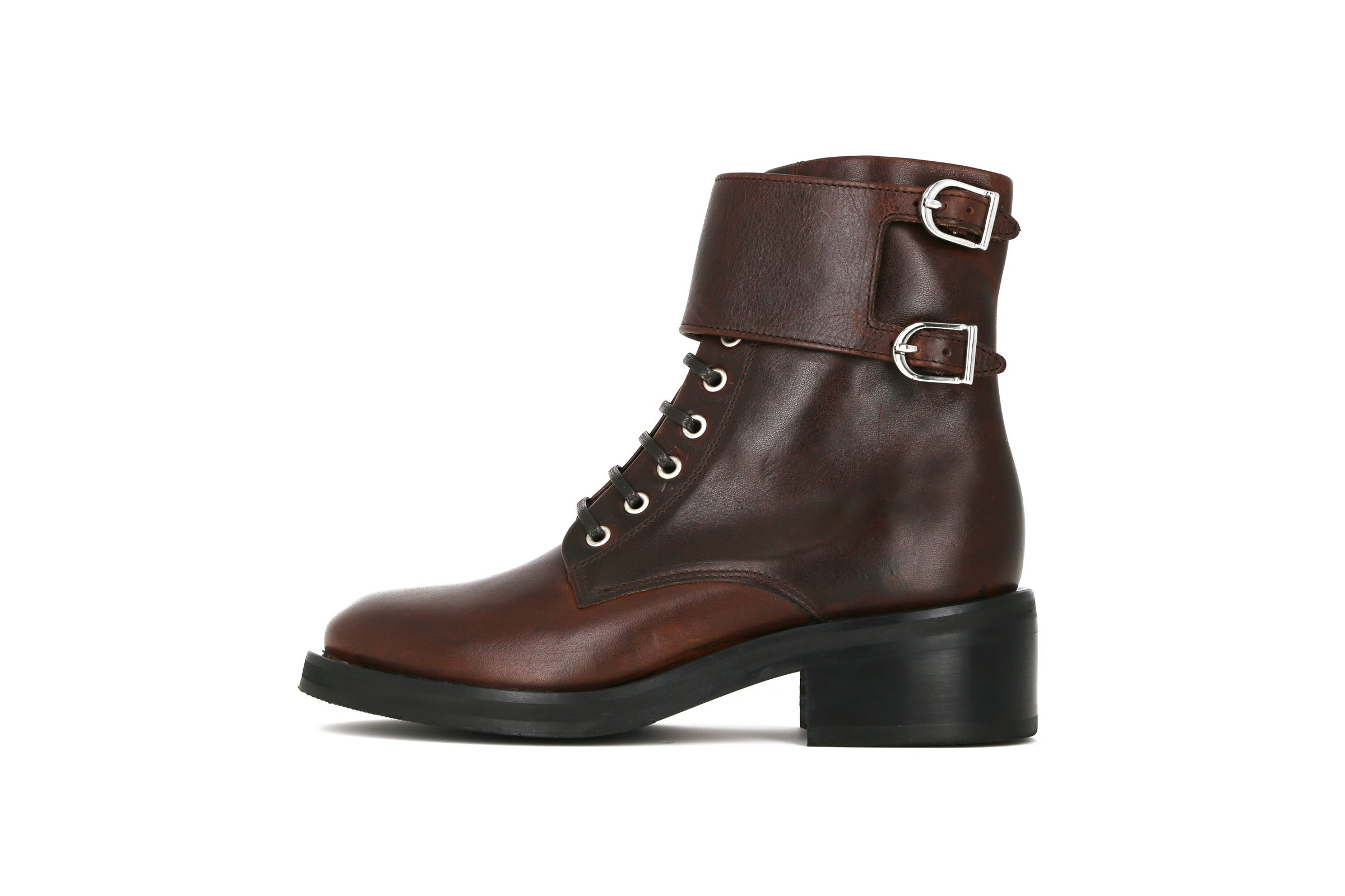 District Monk Lace Up Boot