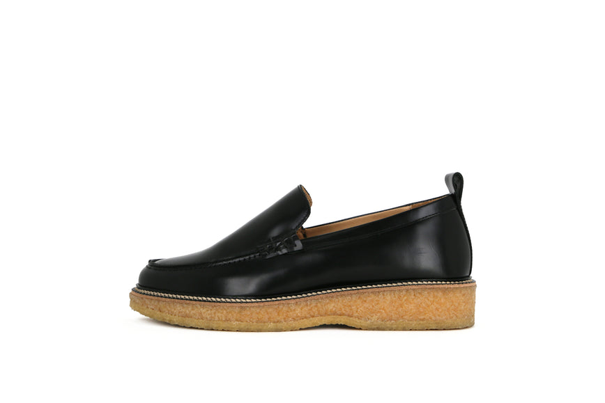 Border Crepe Loafer