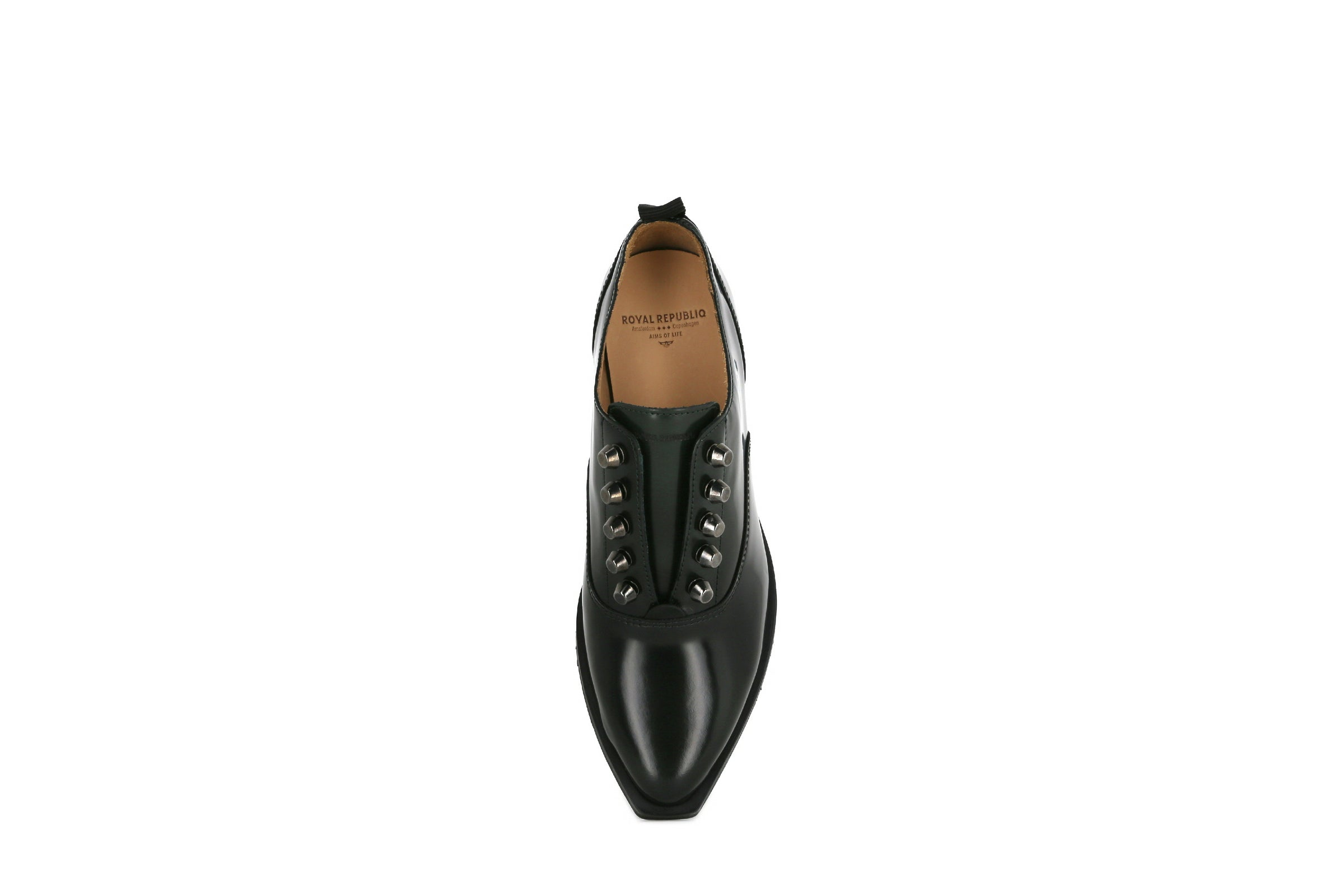 Elite Square Oxford No Lace Shoe