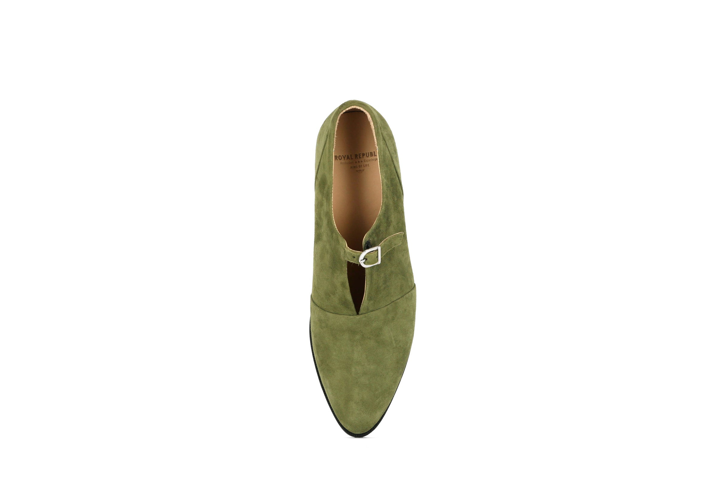 Elite Suede Monk Shoe