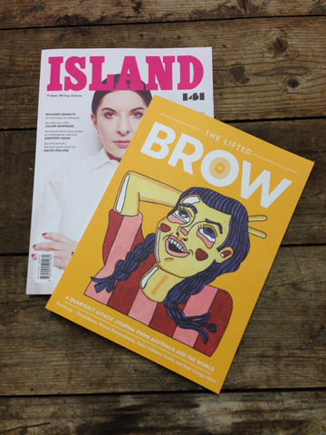 dual subscription: The Lifted Brow + Island (one year)