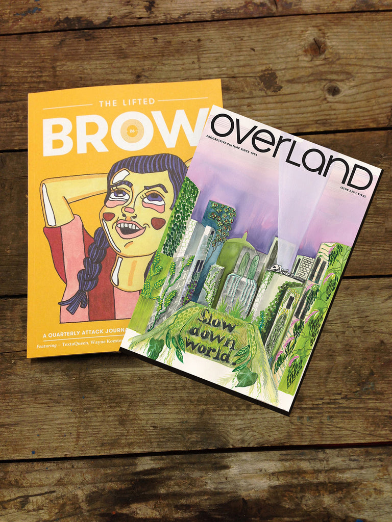 dual subscription: The Lifted Brow + Overland (one year)