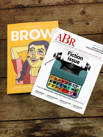 dual subscription: The Lifted Brow + Australian Book Review (one year)