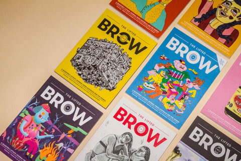 Limited Time Offer: Print Subscription + free Bag o' Brows