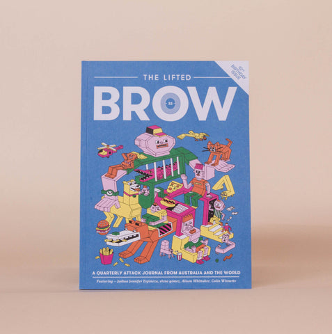 The Lifted Brow #33 | 10th Birthday Issue (out March 13)