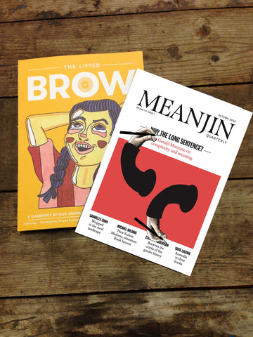 dual subscription: The Lifted Brow + Meanjin (one year)
