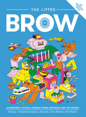 Issue 33 of The Lifted Brow