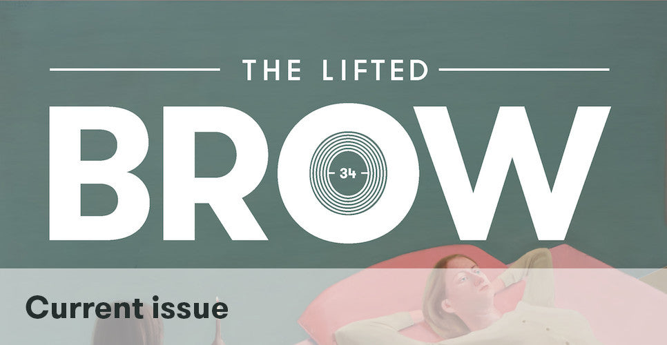 Issue 34 of The Lifted Brow
