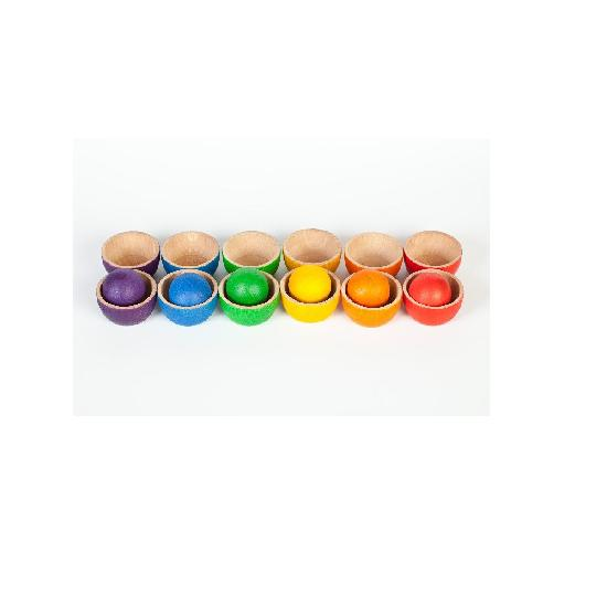 Wooden Bowls and Balls