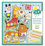Create with Stickers - Coloured Dots