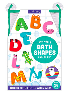 Animal ABC Bath Shapes