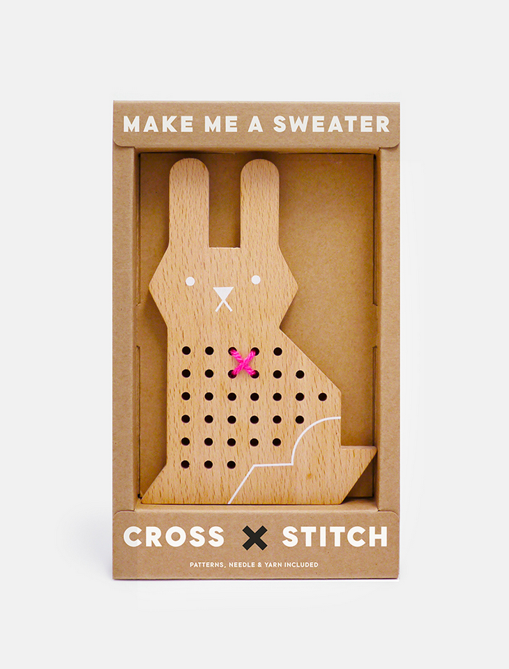 Rabbit Cross Stitch Friend