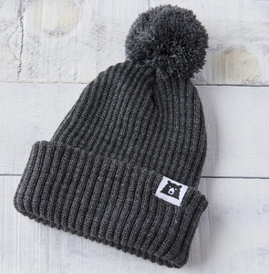 Youth Toboggan Toque Charcoal