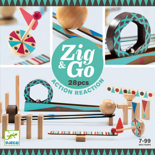 Zig and Go 28pc Building Set