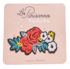 Flowers Embroidered Patch