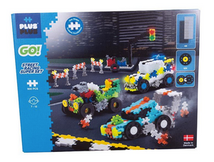 Plus Plus - GO Street Racing Super Set