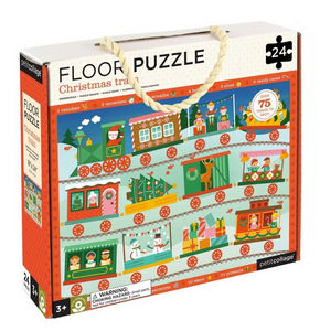 Christmas Train 36 pc Floor Puzzle