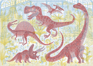 Discover the Dinosaurs 200pc Puzzle