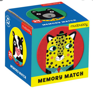 Animals Mini Memory Matching Game