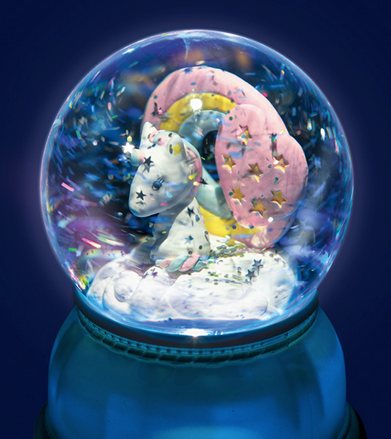 Unicorn Nightlight Snow Globe