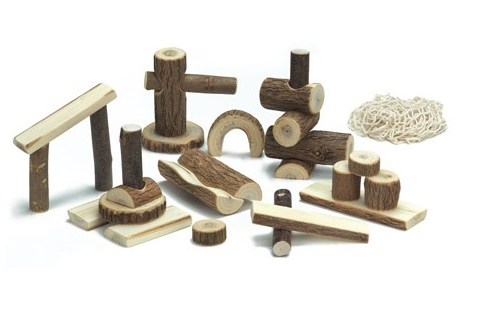 Branch Wood Blocks