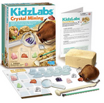 KidzLabs Crystal Mining Kit