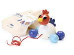 Cocorico the Rooster Pull Toy