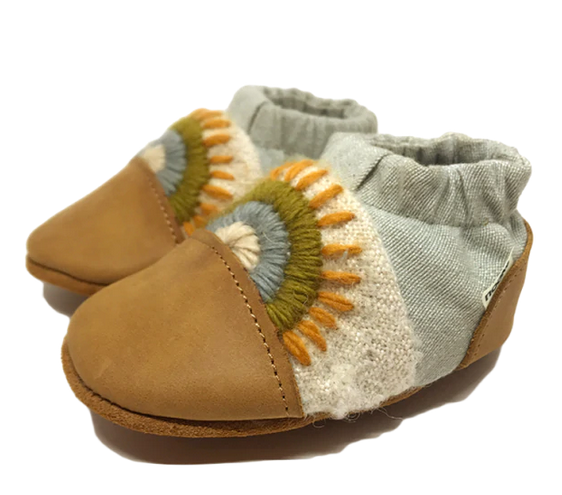 Nooks Canvas Booties Warm Land