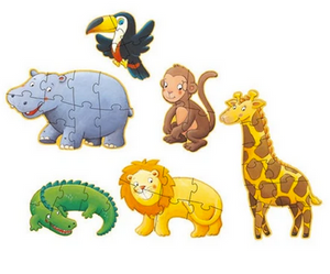Marmoset and Friends Giant Puzzles