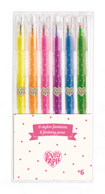 Gel Pen Set of 6